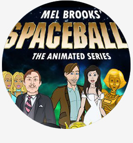 Yenta on Mel Brooks Spaceballs: The Animage Series